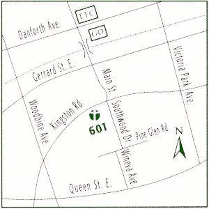 601 Kingston Rd (Linemap)