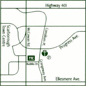 111 Grangeway Ave (Linemap)